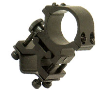 Rifle Barrel Stand for Flashlight
