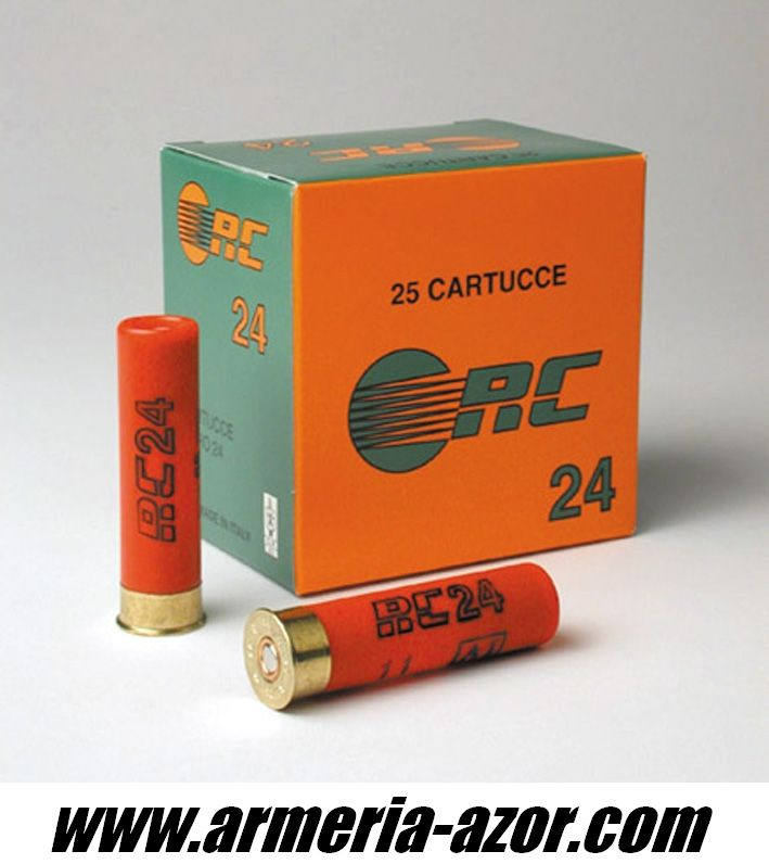 Cartridges RC CAl. 24 (Box 25 units)