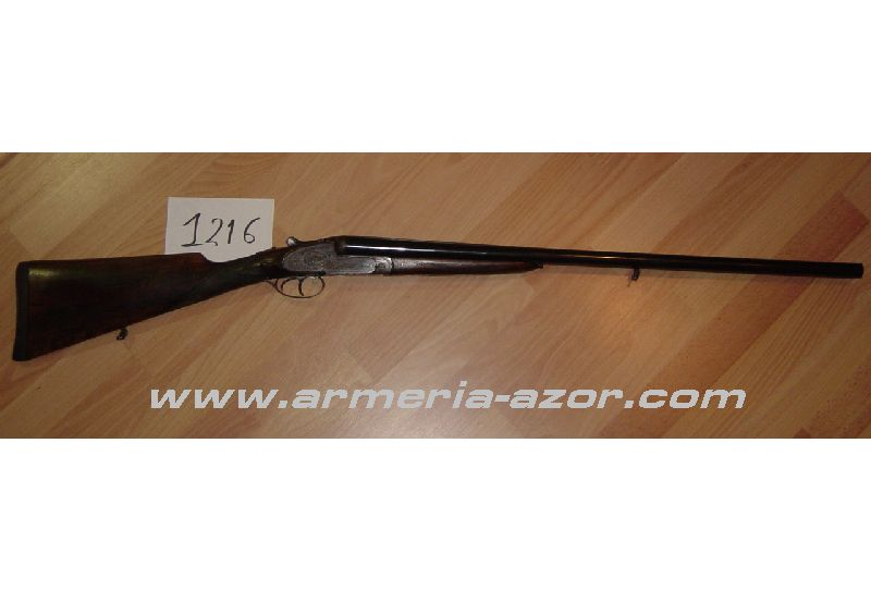 Victor Sarasqueta Side By Side Hunting Used Shotgun
