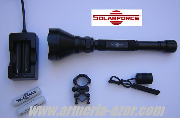 Linterna Solarforce L1200 - Pack de Caza