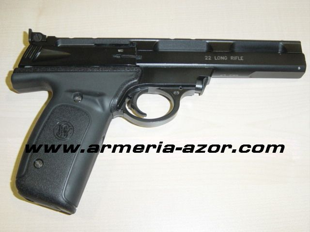 Pistola Smith & Wesson M-22A Negro