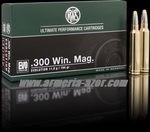 RWS EVO 300 WM 184 grains - 11.9 gr.(Caja 20)