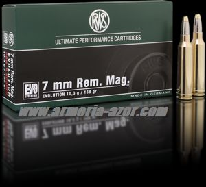 RWS EVO 7mm RM 159 grains - 10.3 gr.(Caja 20)