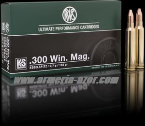 RWS KS 300 WM 165 grains - 10.7 gr.(Caja 20)