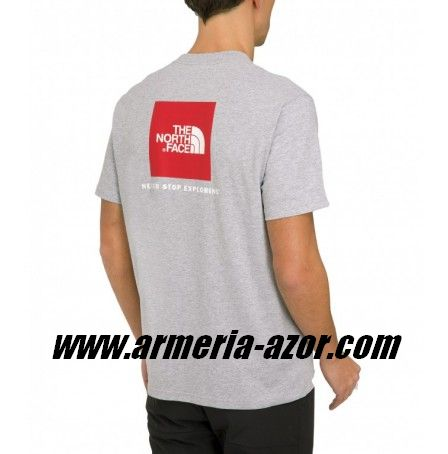 Camiseta The North Face Red Box tee Heather Grey