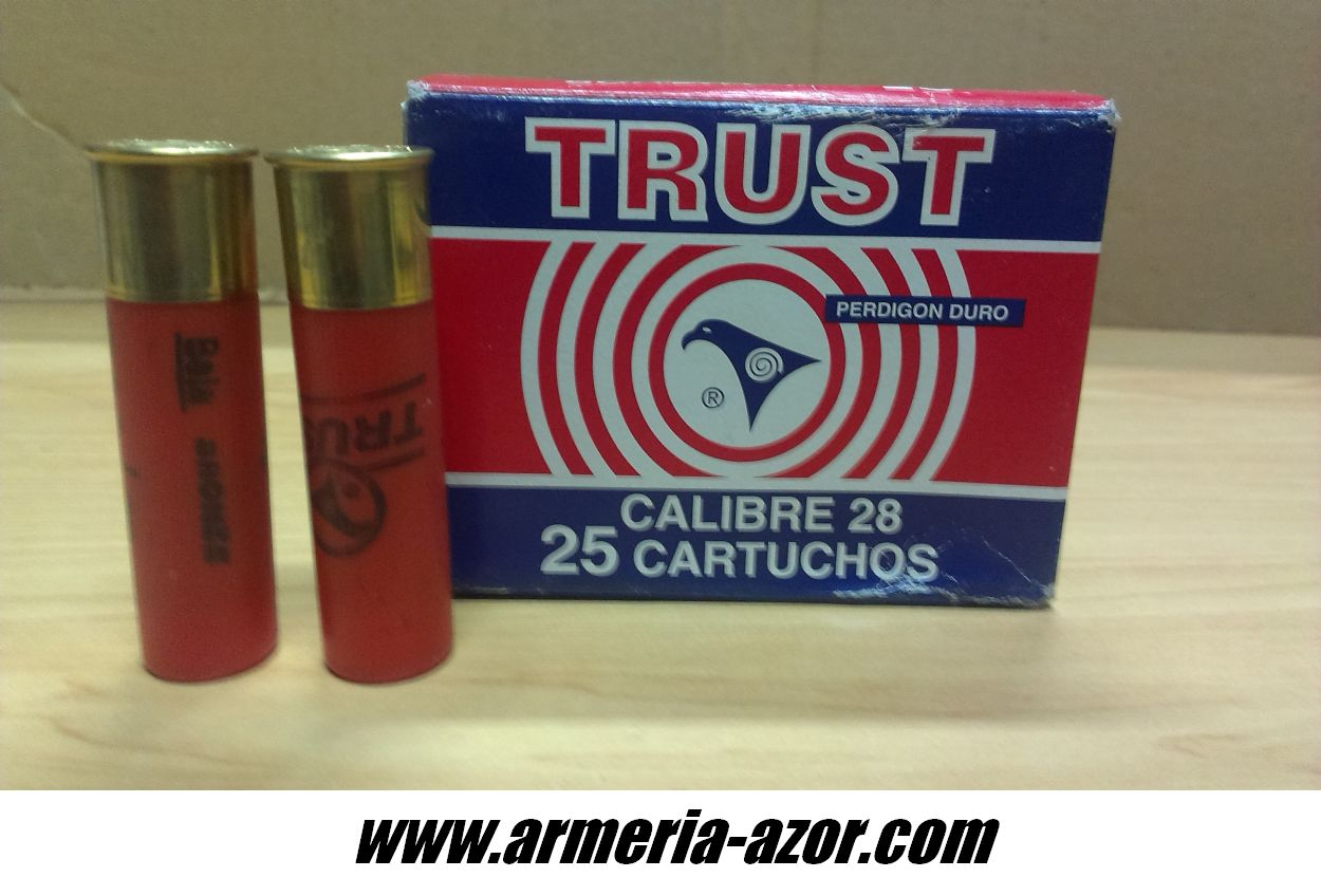 Trust Cartridges Cal. 28 (Box 25 Units)