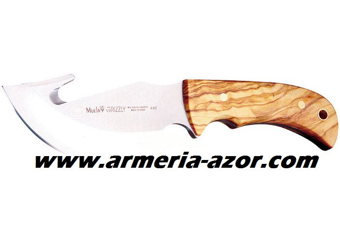 Cuchillo Muela Grizzly
