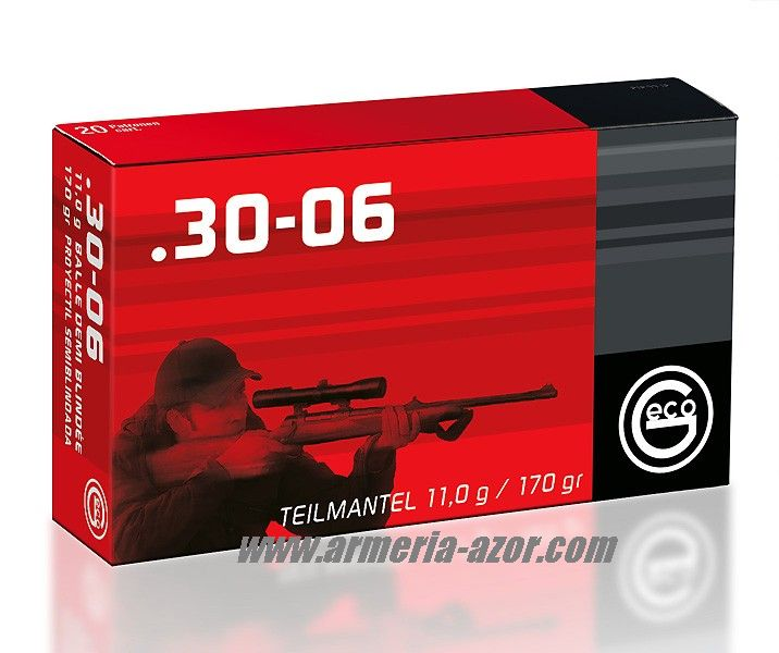 Geco30-06 Express 165 gr Plastic Point