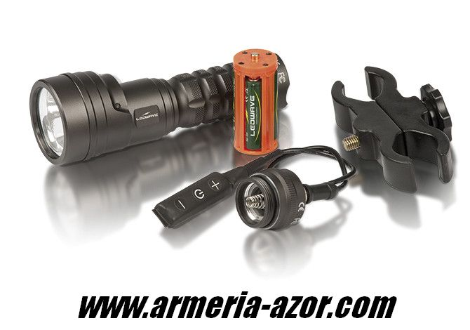 Ledwave flashlight dual wild finder B / R with hunting kit