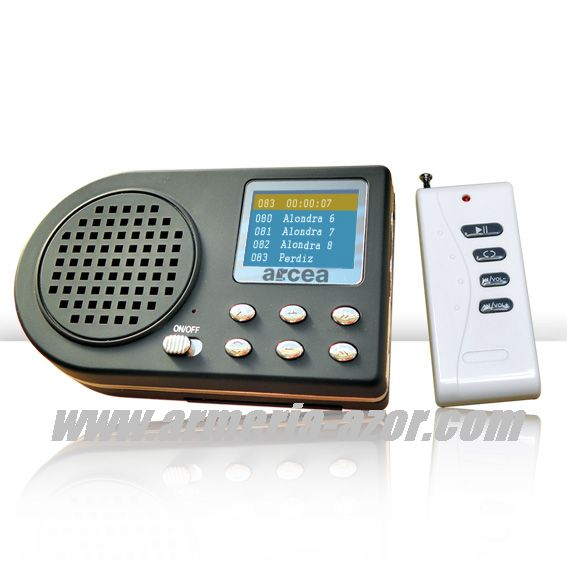 Electronic Animal Sing Player
