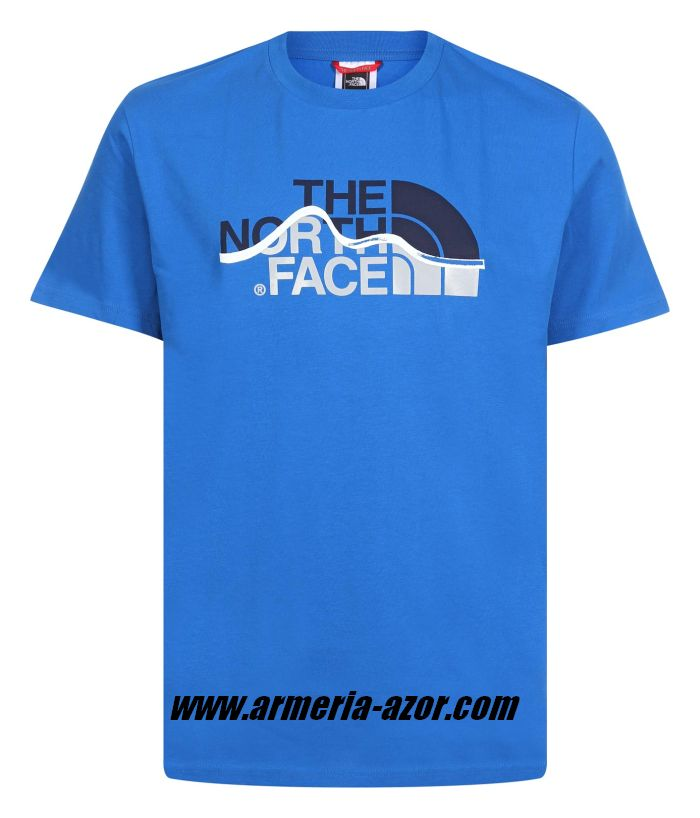 Camiseta The North Face Mountain Line Tee