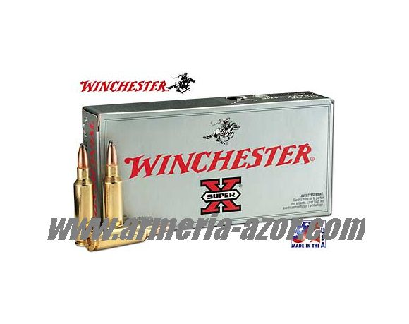 Balas Winchester 338 WM 200 grs Power Point